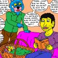 Nyciečio Tuko ir miestietės davatkos Vidos draugystės skaudi istorija 4