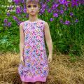 """Rankdarbiu-kavine - Varpelio formos suknelė """"Gėlių pasaka"""""""