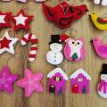 Rankų darbo Kalėdiniai žaisliukai