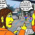 Religinė fanatikė Vida pro autobuso langą pamatė Panevėžio stotyje burtininką Tukurutį