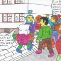 Vienaturtis - Nyciečių vaikų mokymosi Kupiškio miesto mokykloje pati pradžia, kadaise