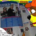 """Vienaturtis - Nycietis Džerijus parduotuvėje skaito žurnale apie grupės """"Scooter"""" išleistą naują albumą"""