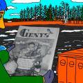 """Vienaturtis - Vaikystės memuarai, susiję su žurnalu """"Genys"""" 10"""