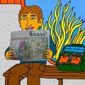 """Vienaturtis - Vaikystės memuarai, susiję su žurnalu """"Genys"""" 33"""