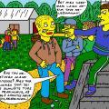 Žaibelių kaimo chuligano Napalio pats niekingiausias poelgis mokykloje