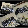 Šachmatėliai katinėliai :)