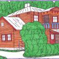 Burtininkų Kukurbezdžių namai miške