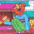 Pupsio Šunėno darbas katilinėje