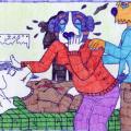 Šunėnai gedi žuvusios Drožkos