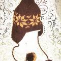 Žieminės kepurės su ausim