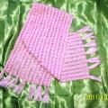 Rožinis šalikas