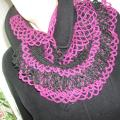 juodas-violetinis