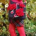Romantiškas raudonas komplektukas